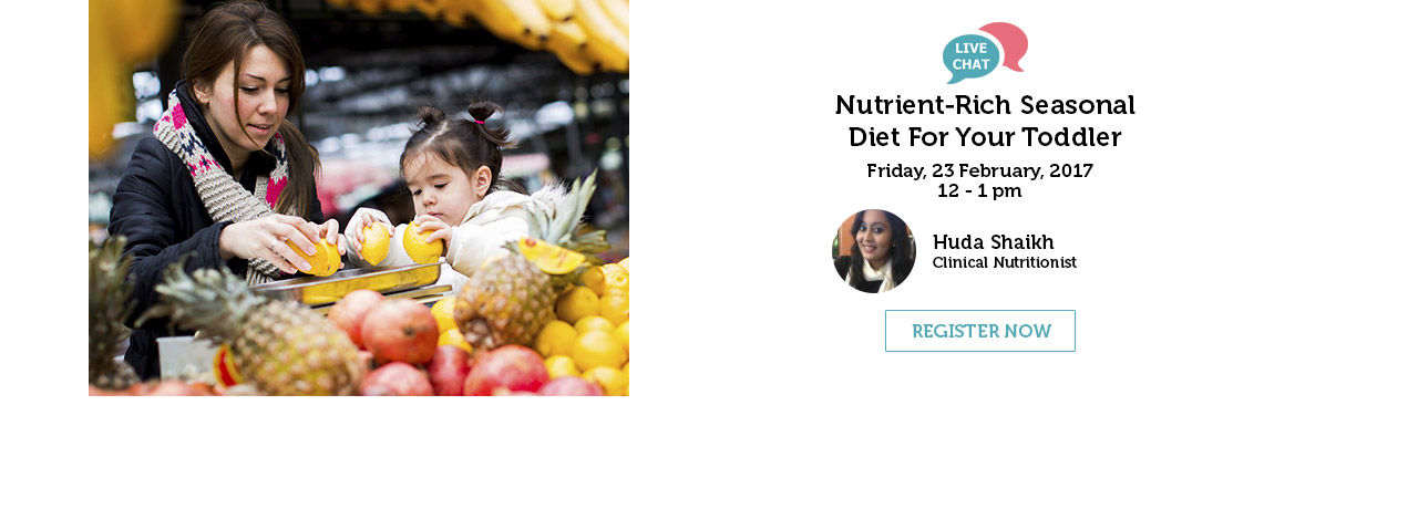 Nutrient rich Seasonal Diet For Your Toddler