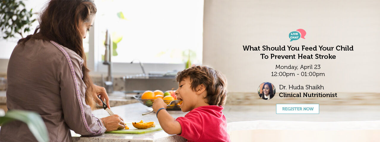 What Should You Feed Your Child To Prevent Heat Stroke