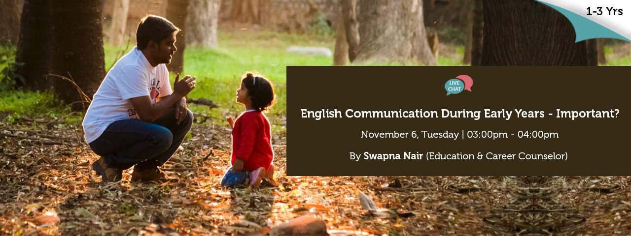English Communication During Early Years Important