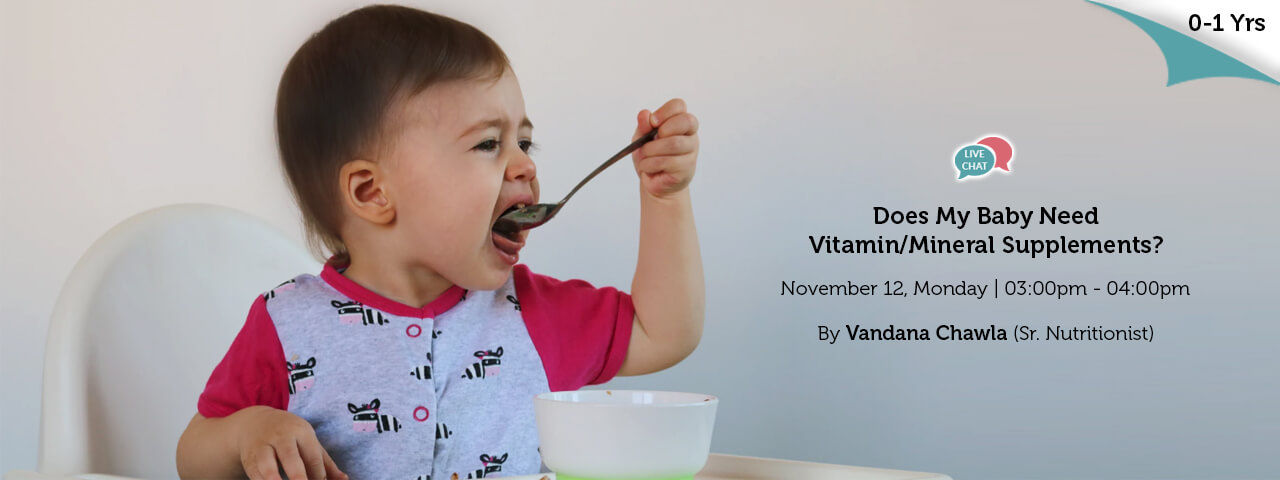 Does My Baby Need VitaminMineral Supplements
