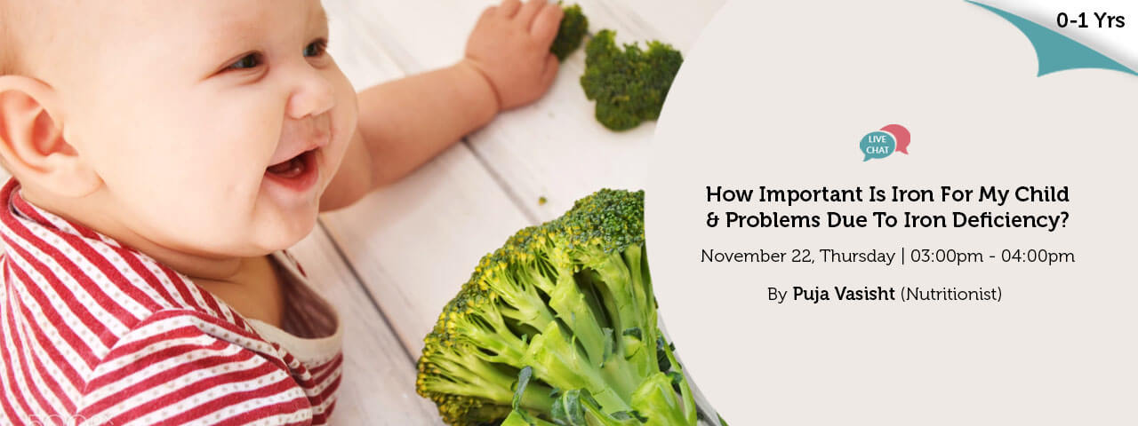 How Important Is Iron For My Child Problems Due To Iron Deficiency