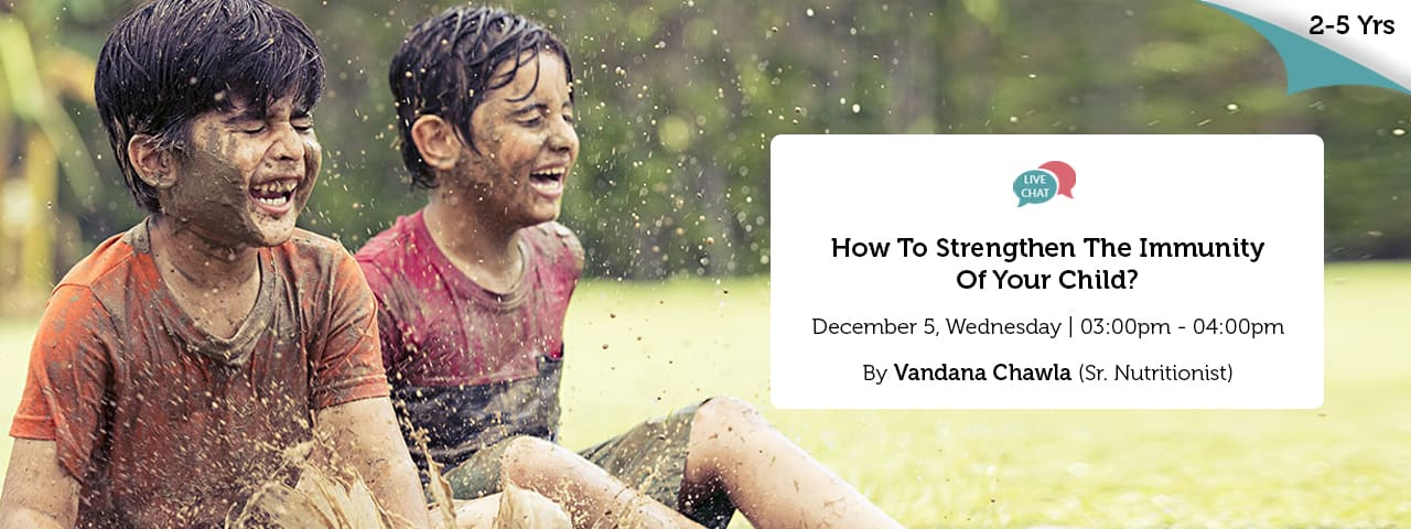 How To Strengthen The Immunity Of Your Child