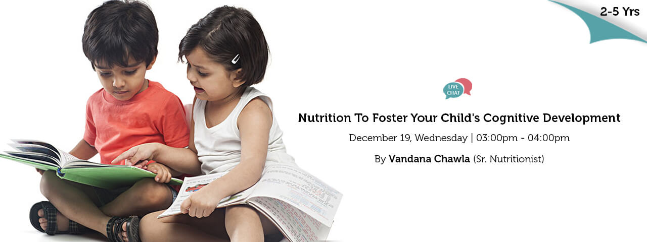 Nutrition To Foster Your Childs Cognitive Development