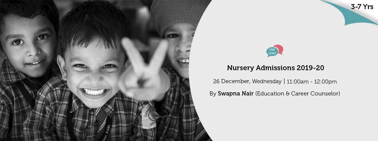Nursery Admissions 2019 20