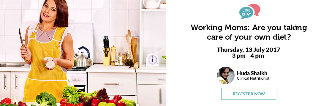 Working Moms Are you taking care of your own diet