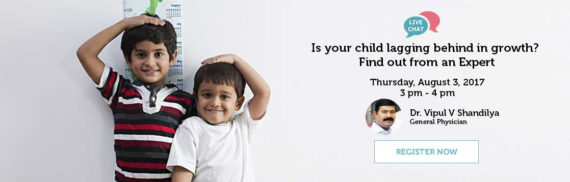 Is your child lagging behind in growth Find out from an Expert