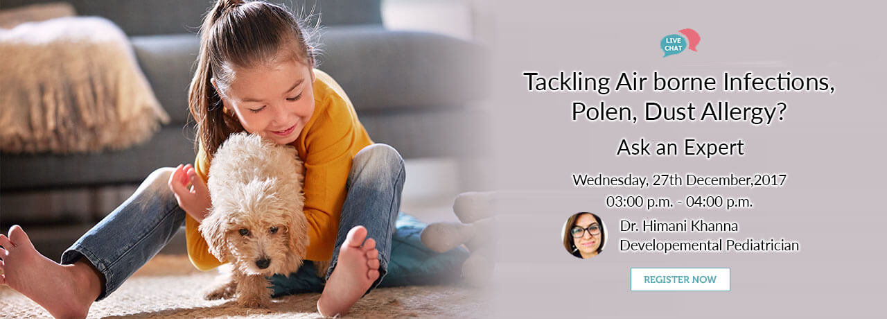 Tackling Air borne infections Pollen dust allergy