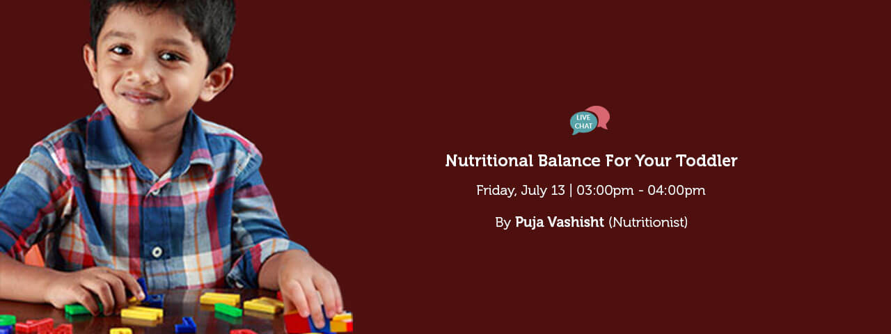 Nutritional Balance For Your toddler
