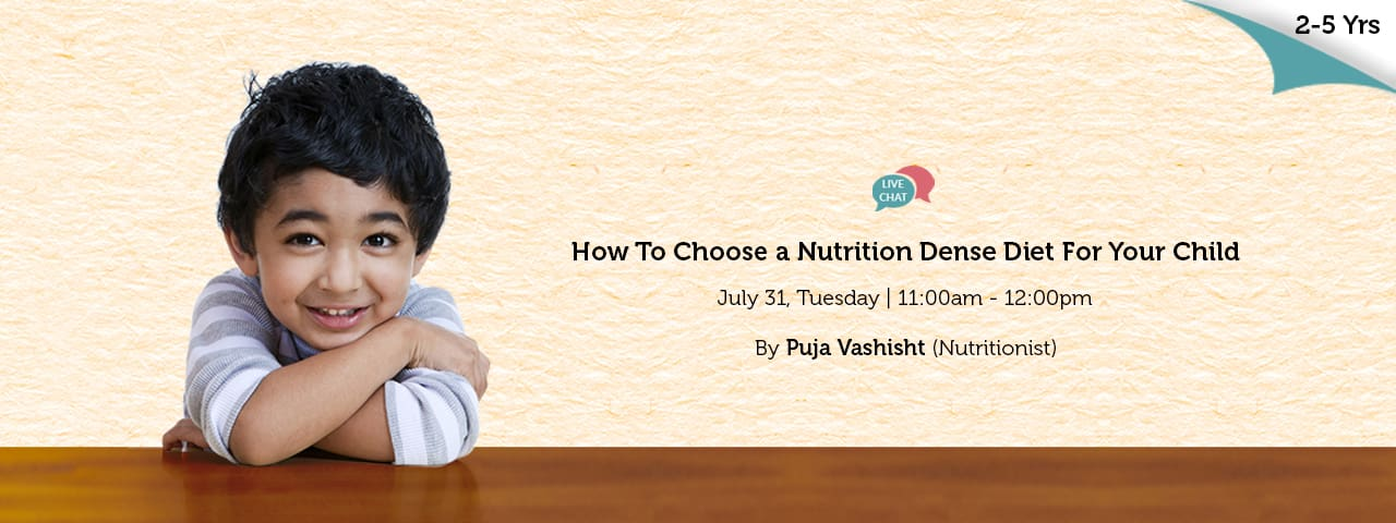 How to choose a nutrition dense diet for your child