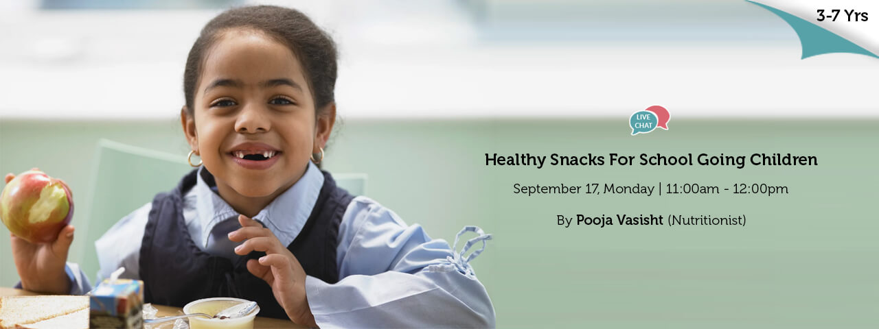 What Should be Healthy Snacks For School Going Children