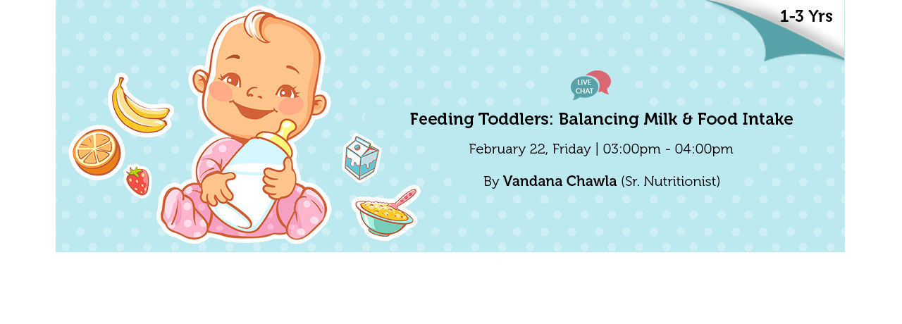 Feeding Toddlers Balancing Milk Food Intake