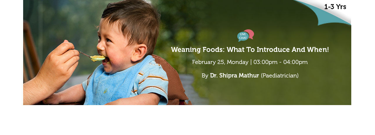 Weaning Foods What To Introduce And When