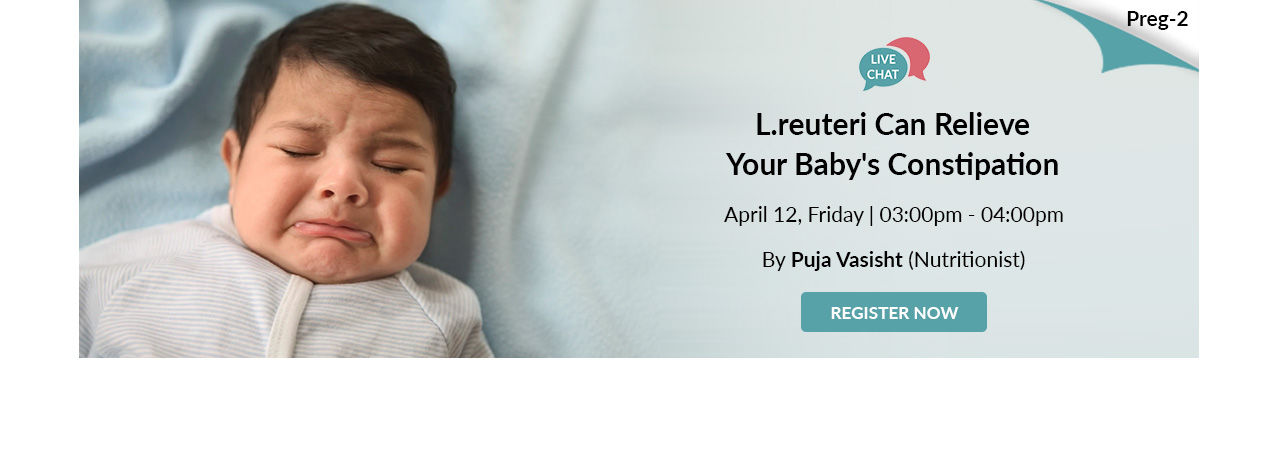 Lreuteri Can Relieve Your Babys Constipation