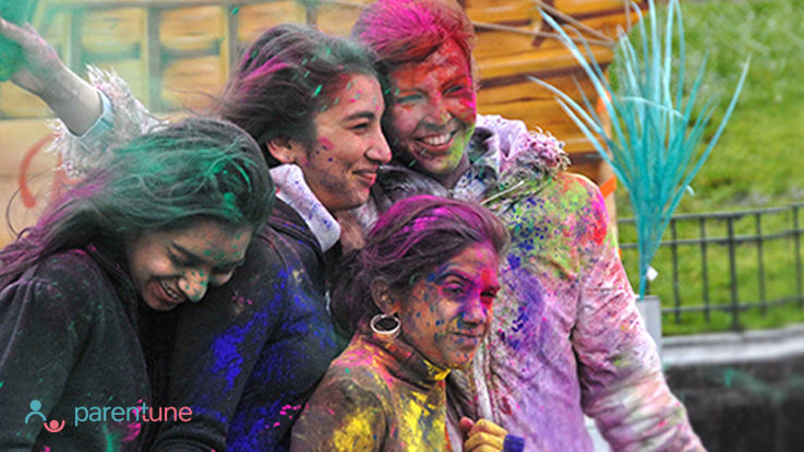 Play Safe Holi With Your Child With These 10 Tips