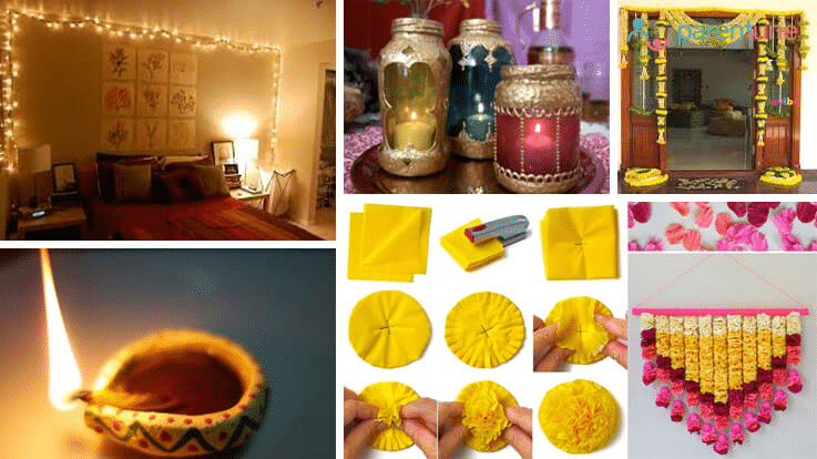 how to decorate your home in diwali 10 diwali decoration ideas within budget parentune 13658
