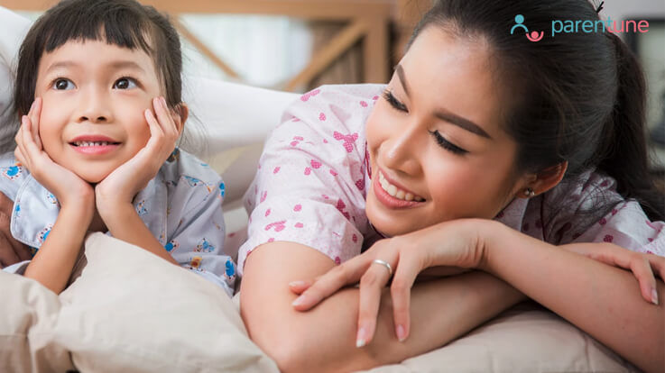 10 Pillow Talk Questions For You And Your Child