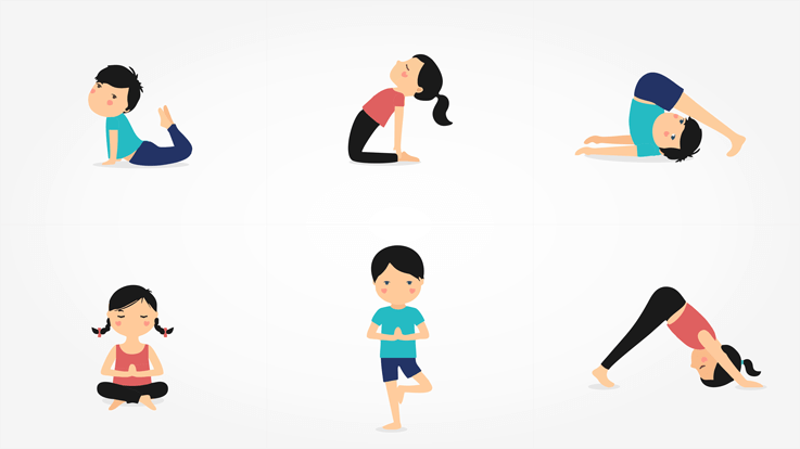 Yoga Asanas For Children to Combat These 5 Common Problems