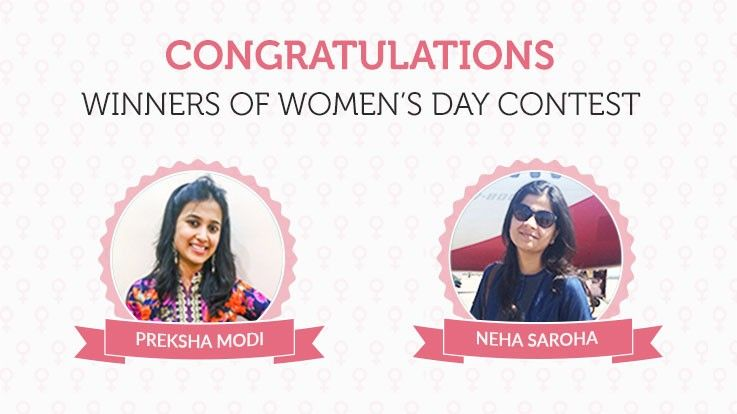 Winners of Womens Day Contest