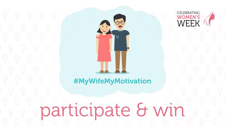 My Wife My motivation