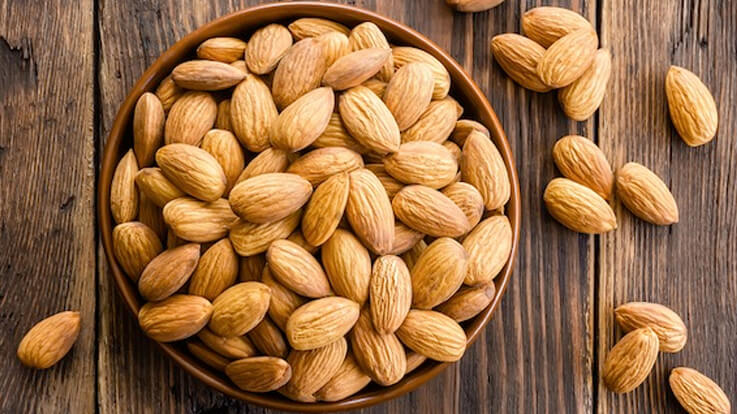 Almonds are not just a winter thing Get all season recipes