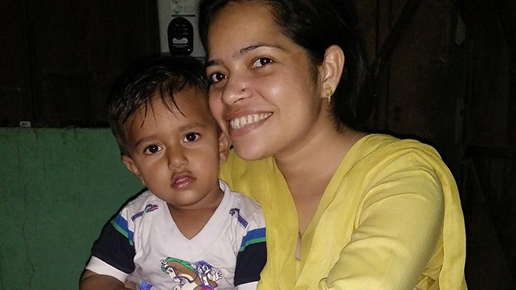 My early days as a mommySwati shares a piece of her life
