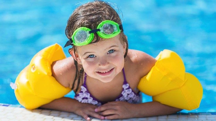 Safety rules When you take your toddler for a swimming