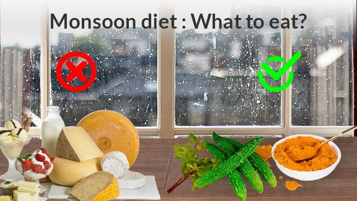 What to Avoid in Childs Diet in Monsoon Season