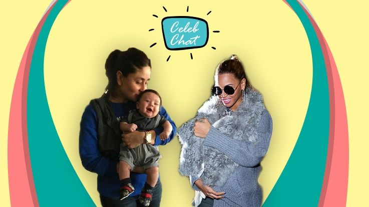 Baby wearing Indian celebs catch up