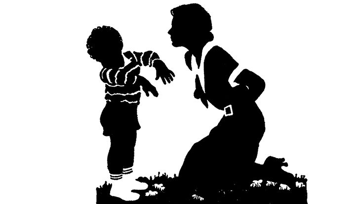 Mama is beating a right thing 5 year old asks his mom