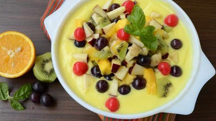 Quick and simple custard recipes for your child