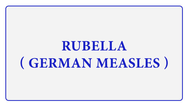 Rubella German Measles Symptoms MMR Vaccination Schedule Precautions