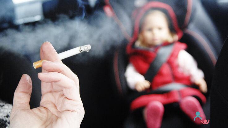 बच्चों के आस पास धूम्रपान करने के खतरे