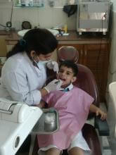 Dentist Handling fear in children