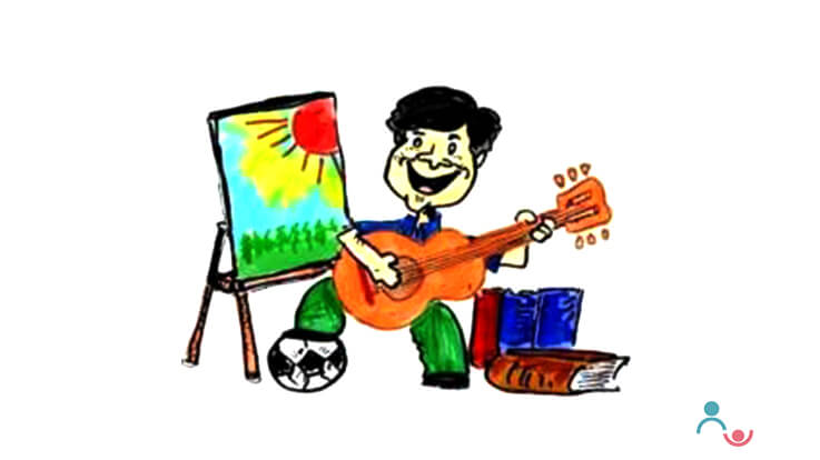Hobby classes for children Dance Music Art Craft
