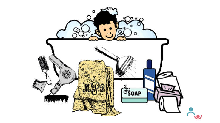 Hygiene in Children Step by Step Guidelines