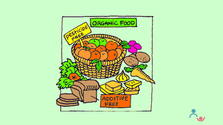 Organic Food for children