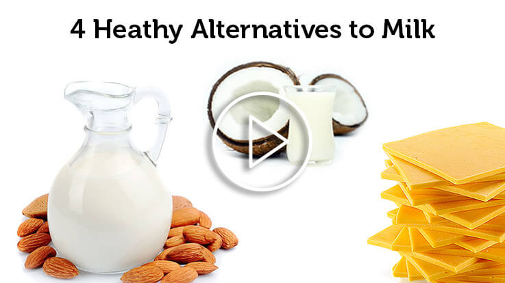 4 Heathy Alternatives to Milk
