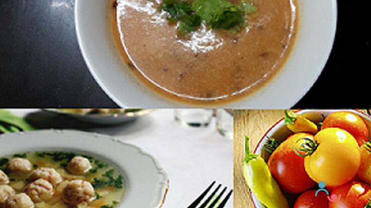 Hot Heartening Soups