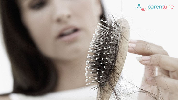 5 Tips To Reduce Hair Fall Post Pregnancy
