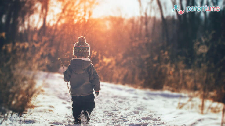 8 Tips to battle winter blues in your child