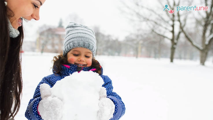 8 Tips To Get Your Toddler Close To Nature This Winter