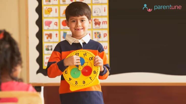 बच्चे को कैसे सिखाएं घड़ी देखना