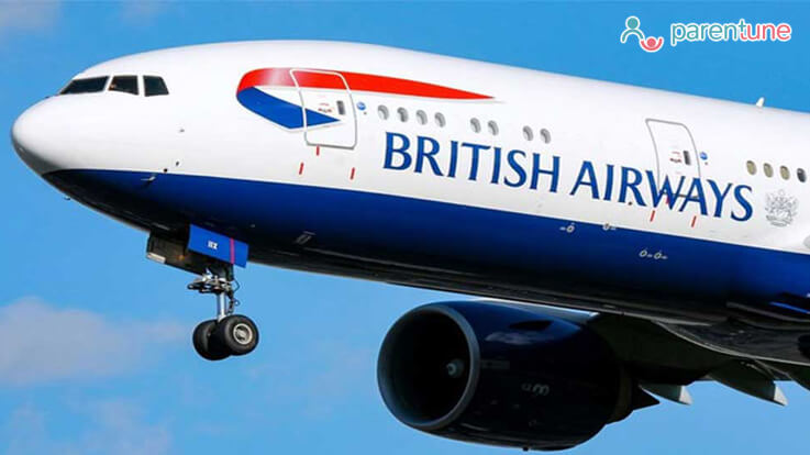 बच्चा रोया तो भारतीय कपल को ब्रिटिश एयरवेज ने विमान से उतारा