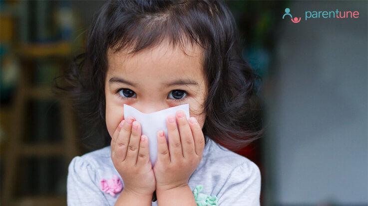 बच्चों की बंद नाक Nasal Congestion खोलने के 5 घरेलु उपाय