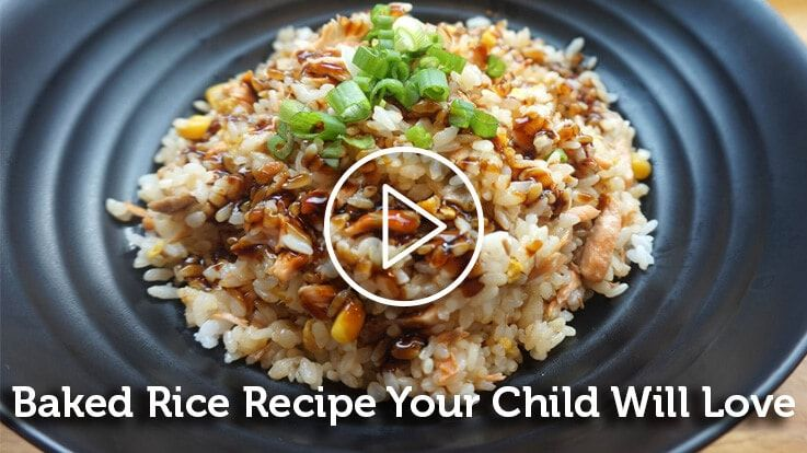 Baked Rice Recipe For Your Child