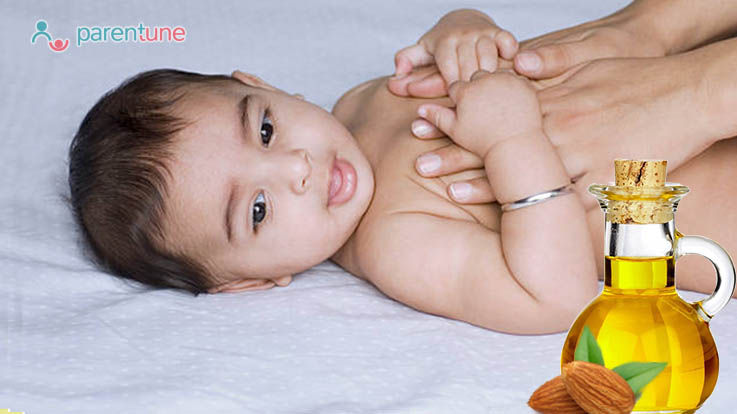 Benefits Of Almond Oil Massage For Your Infant