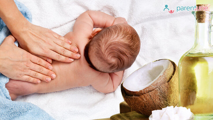 Coconut Oil Baby Massage Benefits Tips to Do Coconut Massage for Infants
