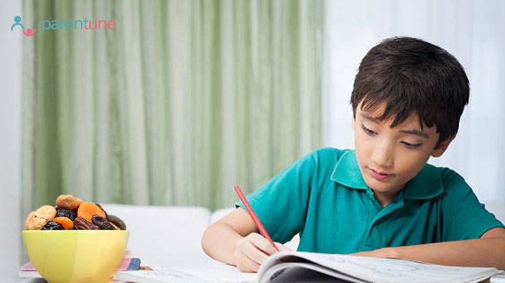 बच्चों का दिमाग़ मेमोरी पावर तेज़ करने के लिए क्या होना चाहिए आहार