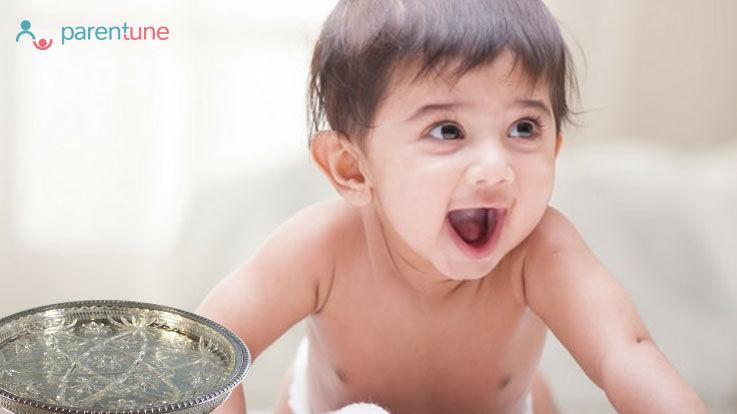 बच्चों को चांदी के बर्तन में खिलाने के होते हैं अनेको फ़ायदे