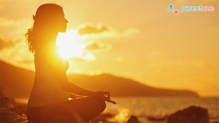 आरामदायक प्रसव के लिए मैडिटेशन के फायदे